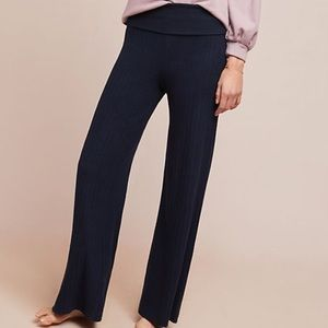 Anthropologie wide leg pant